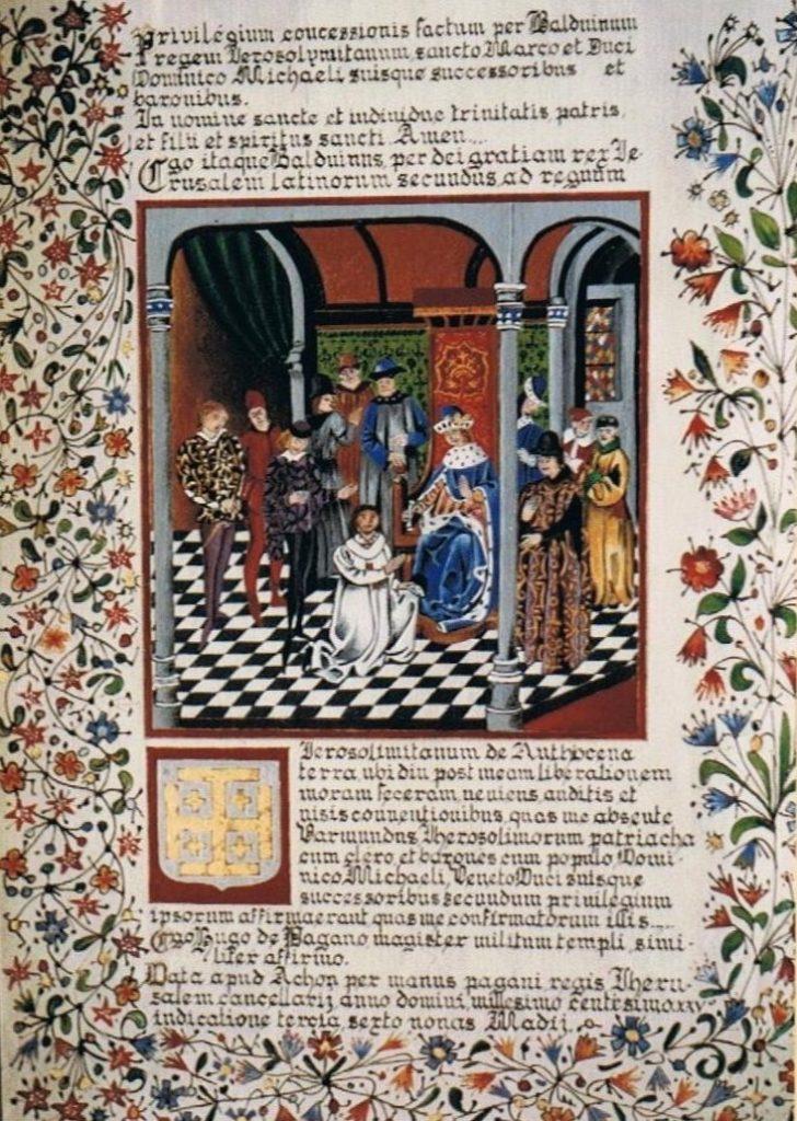 The privileges of  Baldwin II